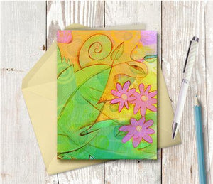 0261  Art Note Card