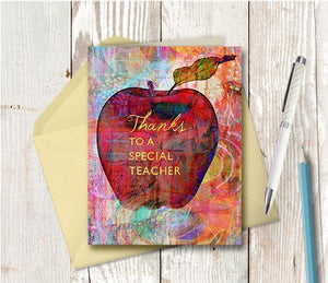 0267 Special Teacher Note Card