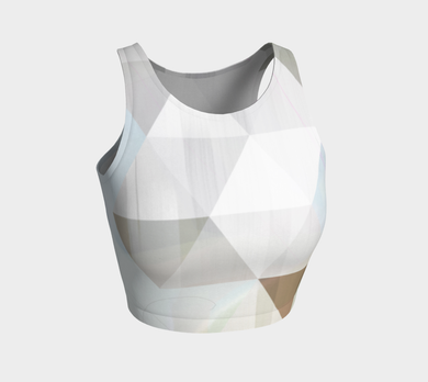 Unhinged Crop Top by Deloresart