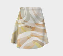 Lord Give Me Coffee Flare Skirt by Deloresart