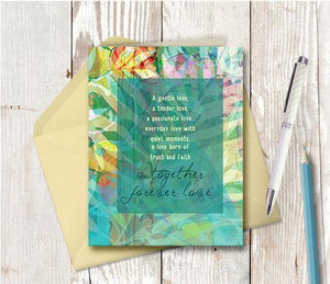 0286 Together Forever Love Note Card