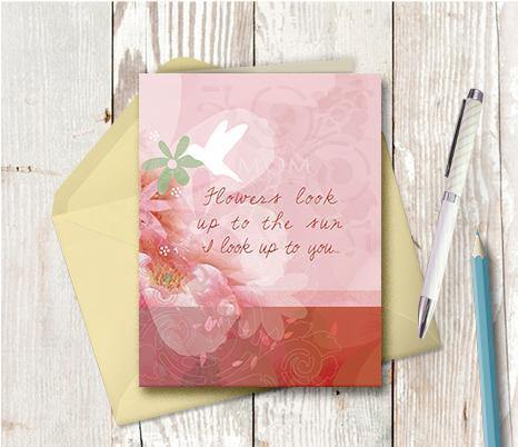 0291 Mom Look Up To Note Card