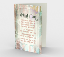 1151. A Real Man  Card by DeloresArt