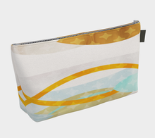 Side by Side Makeup Bag