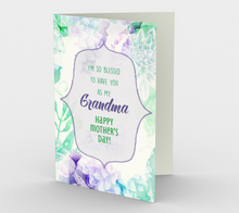 1192. So Blessed You're My Grandma  Card by DeloresArt
