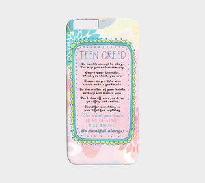 308  Teen Creed Device Case