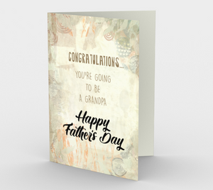 1227. Congratulations Grandpa  Card by DeloresArt