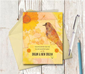 0304 Dream A New Dream Note Card