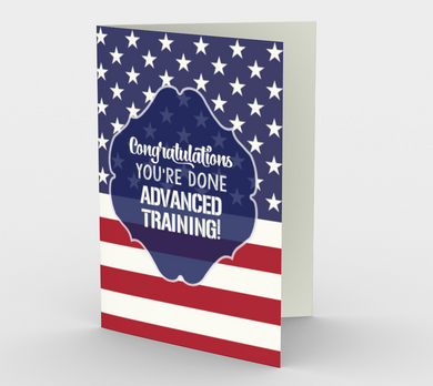 1370 Done Advanced Training Card by Deloresart
