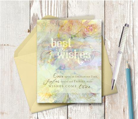0316 Best Wishes Note Card