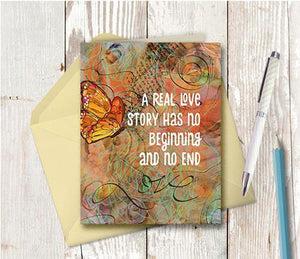 0329 Real Love Story Note Card