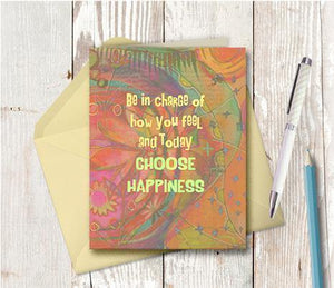 0356  Choose Happiness Note Card
