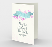 1288. On Your Baptism  Card by DeloresArt