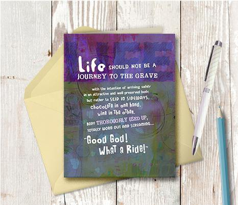 0361 Life Journey Note Card