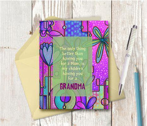 0381 You For A Grandma Note Card