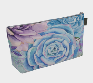 Lety's Lovely Garden Makeup Bag - deloresartcanada