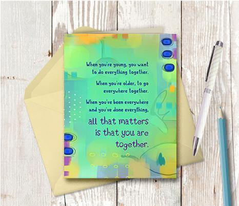 0386 Together Is All That Matters Note Card