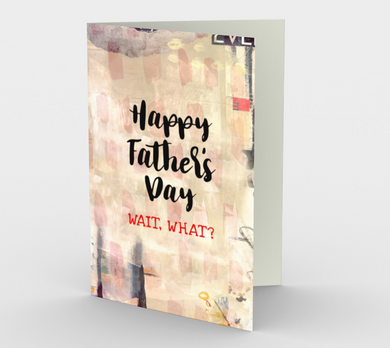 1222. Father's Day Surprise  Card by DeloresArt