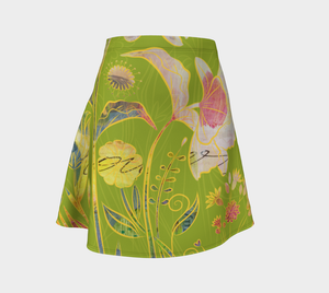 Subtle Soriya Flare Skirt by Deloresart