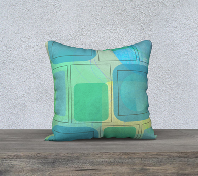 Corona Corona Blues Pillow by Deloresart