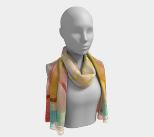Morning Rain Scarf by Deloresart