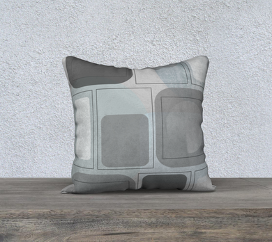 Corona Corona Grays Pillow by Deloresart