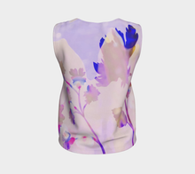 Breezy Blooms Loose Tank by Deloresart in Purples - deloresartcanada