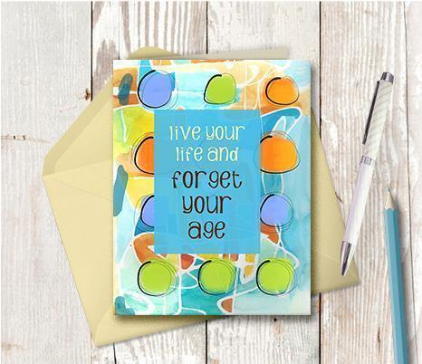 0421 Forget Your Age Note Card
