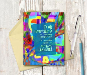 0440 Inseparable Note Card