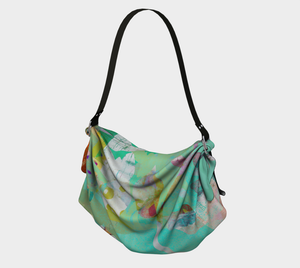 Abundant Forest Origami Tote by Deloresart