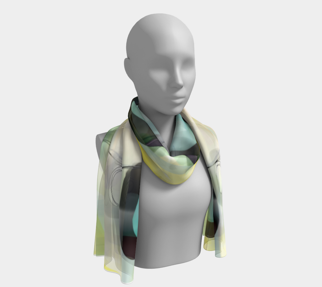 Lemon Meringue Scarf