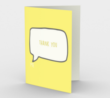 1186. Thank You  Card by DeloresArt