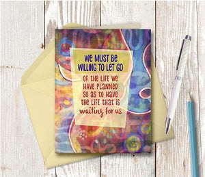 0484 Be Willing Note Card
