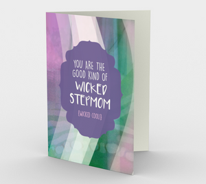 1205. Wicked Good Stepmom  Card by DeloresArt