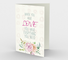 1156. When You Have Love v.3  Card by DeloresArt