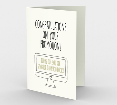 1064.Congratulations on Your Promotion  Card by DeloresArt
