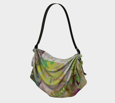 Sage Obscurity Origami Tote by Deloresart