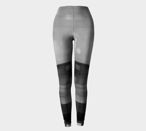 Angle Iron Greys Leggings by Deloresart