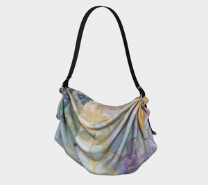 Kindred Leaf Origami Tote by Deloresart