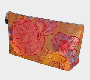 Poppy Party Makeup Bag