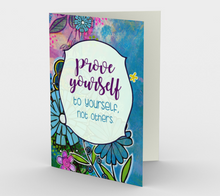 0944.Prove Yourself to Yourself  Card by DeloresArt