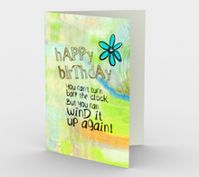 0528.Wind the Clock Birthday  Card by DeloresArt