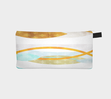 Side by Side Pencil Case by Deloresart
