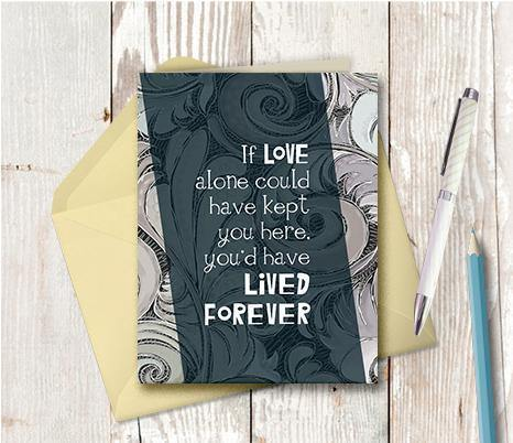 0524 Lived Forever Note Card