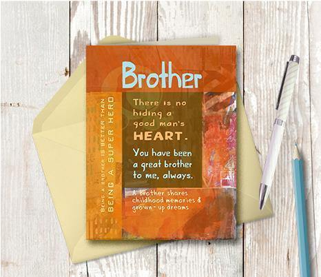 0533 Brother Note Card