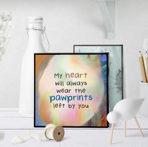 0555 Pawprints Art