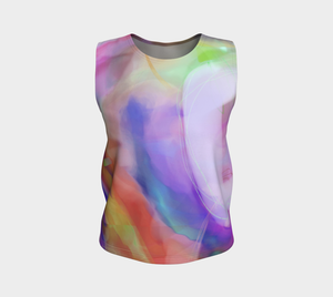 Good Wine Loose Tank by Deloresart  in Purples