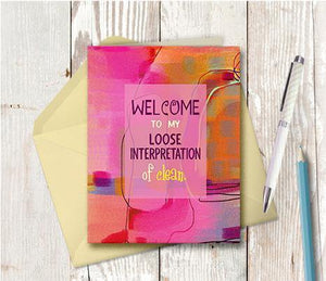 0565  Loose Interpretation Note Card