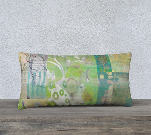 Alluring Umbrage Lumbar Pillow by Deloresart