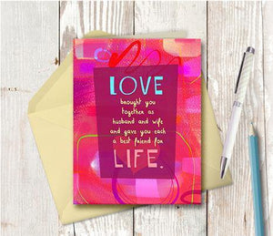 0577 Love Brought You Together Note Card